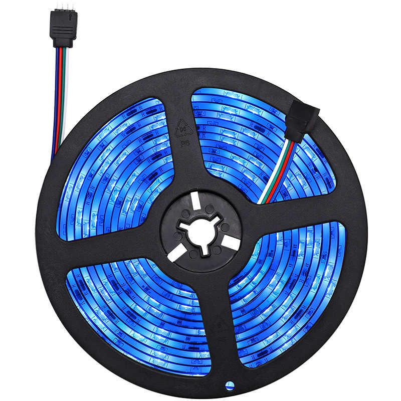 Kontroler WIFI listwy rgb LED SMD5050 5 M/16.4ft LED listwa oświetleniowa Neon Led 12V elastyczna taśma LED taśma z panelem zdalnego sterowania