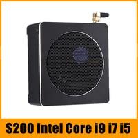 Top Gaming Mini PC i9 i7 8850H i5 8300H 6 Core 12 Threads 2*DDR4/DDR3L NVMe M.2 Nuc Desktop Computer Win10 Pro AC WiFi HDMI DP