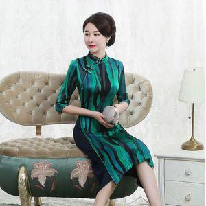 Image 3 - 고급 Cheongsam 드레스의 고대 방법을 복원하는 매일 개선에 슬리브 젊은 여성 패션의 2019 판매 7 분