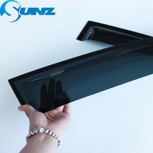 Image 3 - Side Window Deflector For Hyundai IX35 2010 2011 2012 2013 2014 2015 ABS Black Window Visor Vent Shades Sun Rain Deflector SUNZ