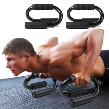 Body Building Push Up Bar Pushup Stands Grip S-type Push-up Bracket Home Gym Training Fitness Equipment