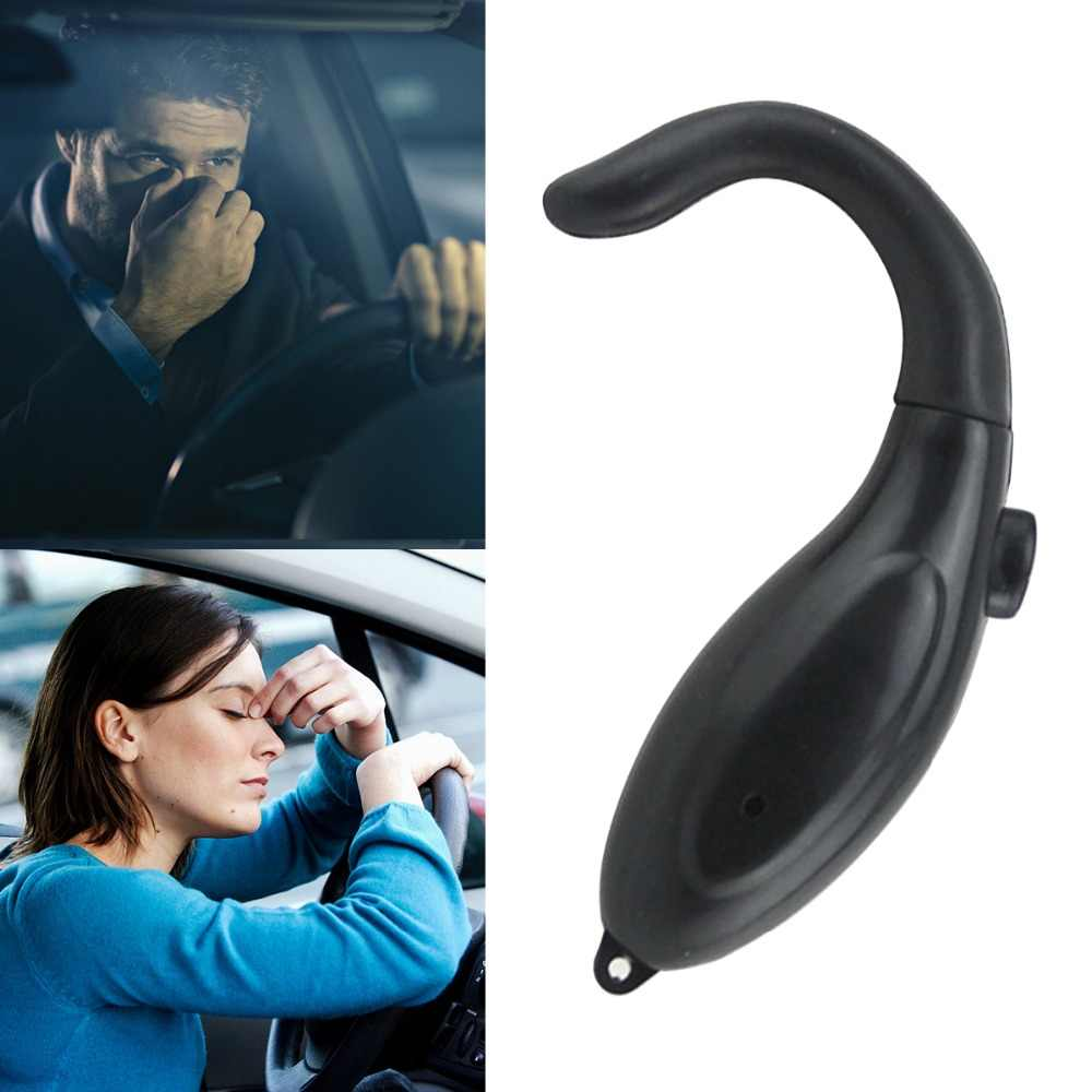 Zwarte Auto Styling Auto Safe Device Anti Sleep Drowsy Alarm Alert Slaperig Herinnering Voor Auto Driver Te Houden Awake Auto accessoires