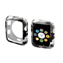 Camouflage watch case for apple 3 2 1 soft TPU Shell For iwatch 38/42mm Bumper Protective Cover Frame watches Accessories