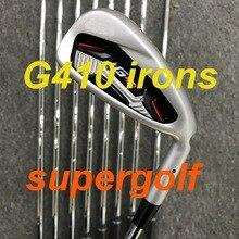 새로운 골프 아이언 AKIA G410 아이언 (4 5 6 7 8 9 P U W) 다이나믹 골드 S300 스틸 샤프트 9pcs 골프 클럽