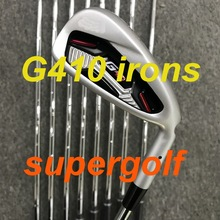 新しいゴルフアイアン akia G410 アイアン (4 5 6 7 8 9 pu ワット) と S300 スチールシャフト 9 個ゴルフクラブ
