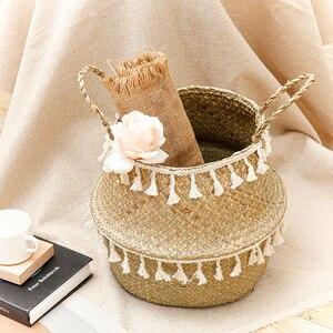2020 Wicker Basket Seagrass Wo