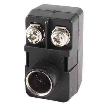Adaptateur coaxial TV F 300/75 Ohm, 2 antennes Push-On de qualité