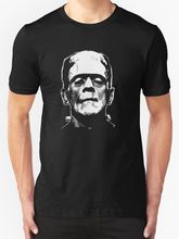 FRANKENSTEIN T SHIRT HALLOWEEN HORROR MOVIE FILM CULT CLASSIC RETRO VINTAGE Harajuku Fashion Classic Unique free shipping