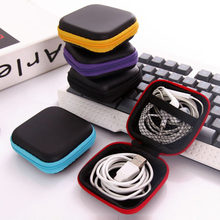 Portable Mobile Phone Headset Box Mini Power Pack Data Line Protection Bag Box Finishing Digital Disk Storage Box Storage Bag(China)
