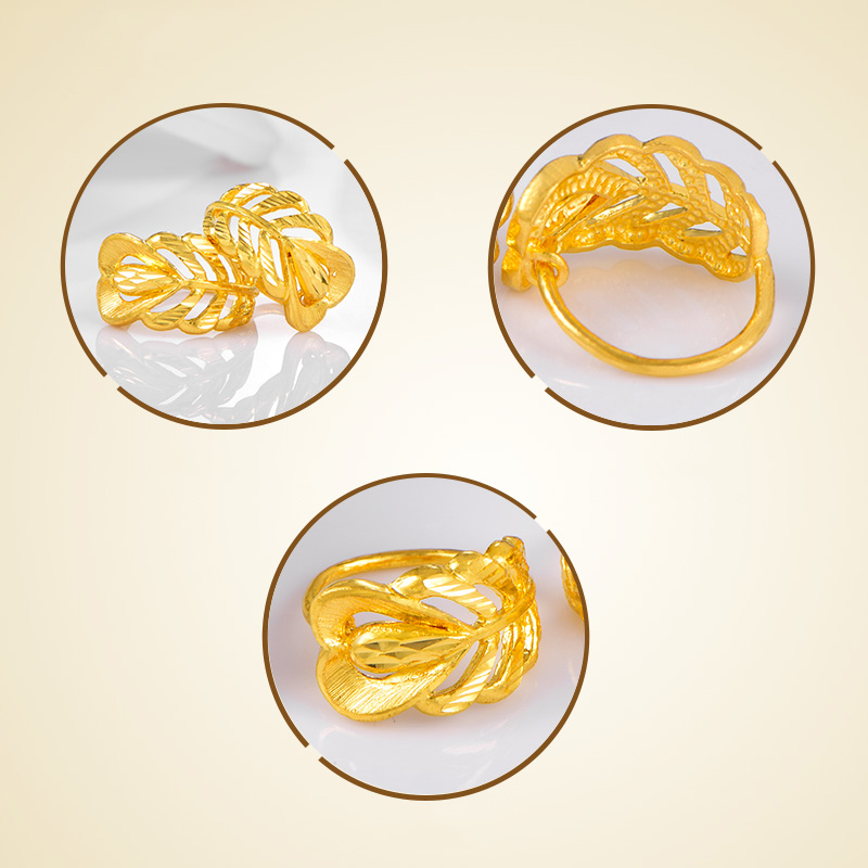 Image 5 - SFE 24K Pure Gold Earring Real AU 999 Solid Gold Earrings Nice Good  Upscale Trendy Fine Jewelry Hot Sell New 2020Earrings   -