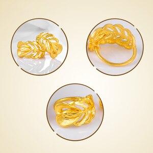Image 5 - SFE boucles doreilles en or pur 24K, véritable AU 999, bijoux en or massif, jolies, avancées, tendances, meilleures ventes, nouvelle collection 2020