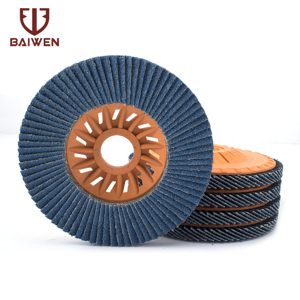 2-10PCS Flap Discs 125mm Sanding Discs 60 Grit Grinding Wheels Blades For Angle Grinder