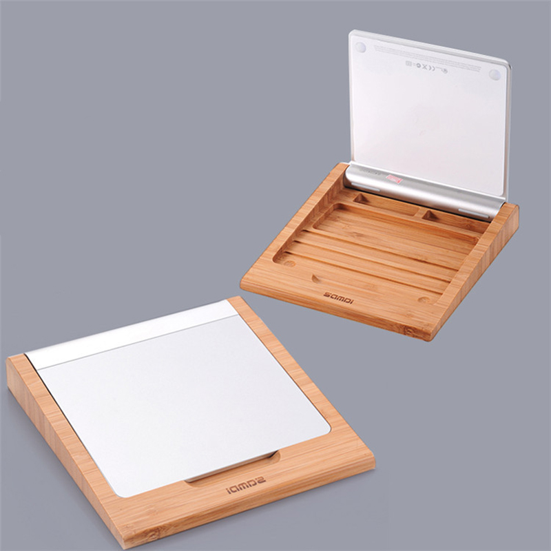 High Quality Wooden Stand Bluetooth Heighten Trackpad Touchpad Holder Bracket For Apple Trackpad