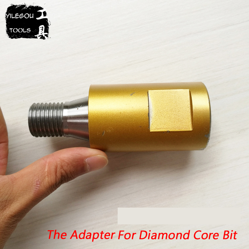 Diamond Drill Adapter For M22 Diamond Core Bit. Diamond Drill Output Shaft Thread Distance 8.467mm. Rotary Union
