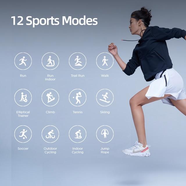 Amazfit Verge Sport Smartwatch GPS Bluetooth Microphone Speaker Pedometer Message Push Heart Rate 5