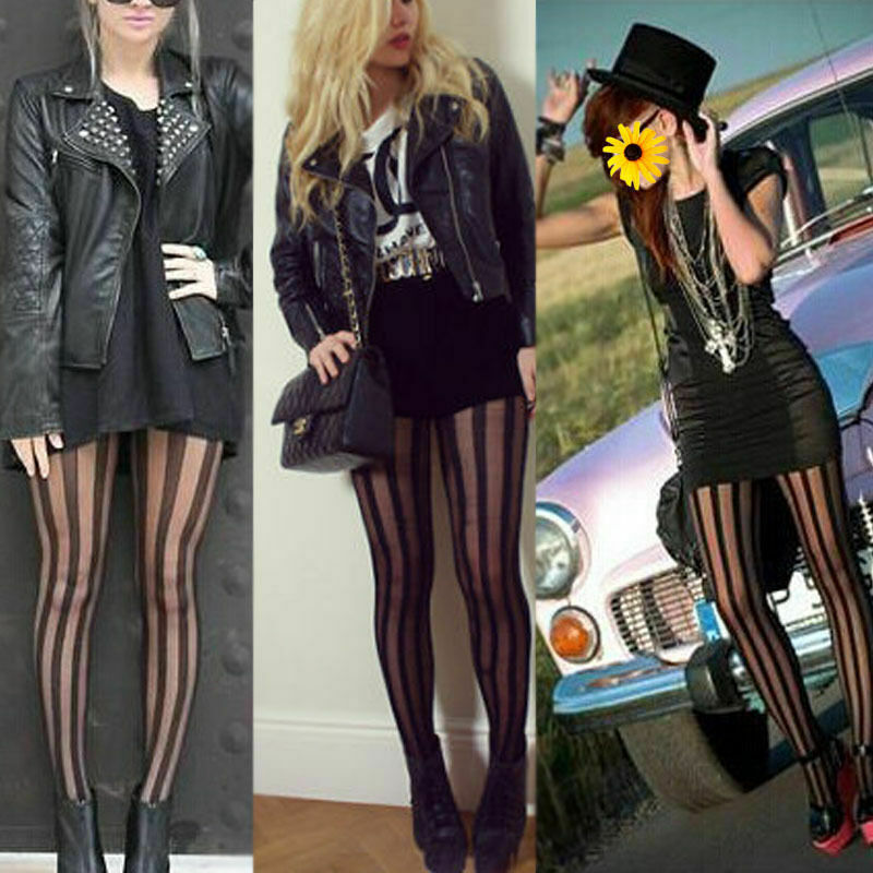 Sexy Lingerie Lace Stocking Women Solid Black Striped Transparent Stock Sexy Legs Long Tube High Tube Thigh Stockings For Women