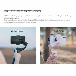 3 Axis Professional Foldable Universal Stabilizer Gimbal Photography Outdoor Adjustable Smartphone Flexible Mini For GoPro 4 5 6