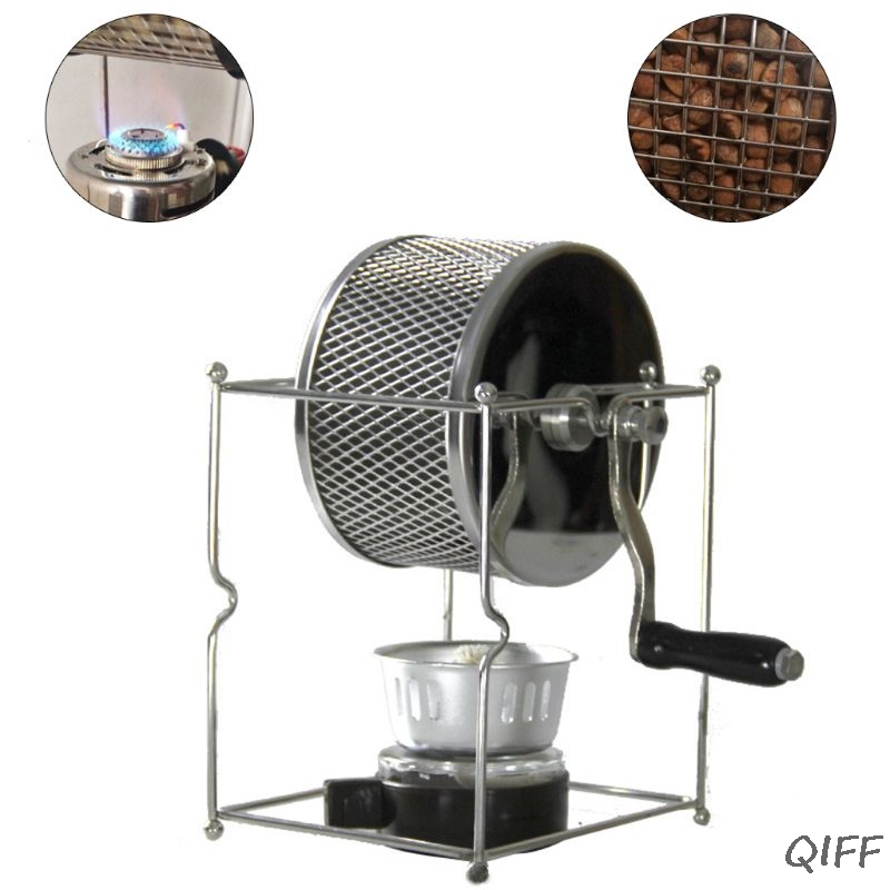 Manual Stainless Steel Household Coffee Bean Roasting Machine Coffee Roaster(China)