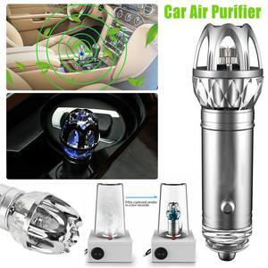 Image 5 - Purificador de ar do carro 12v auto carro purificador de ar fresco iônico barra oxigênio ozônio ionizador mais limpo carro ambientador accessries