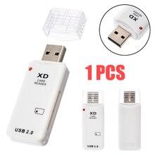 Внутренний компьютер 1 шт. супер тонкий USB 2,0 XD устройство для чтения карт памяти для камер Olympus Fuji для Windows 2000/XP/Vista
