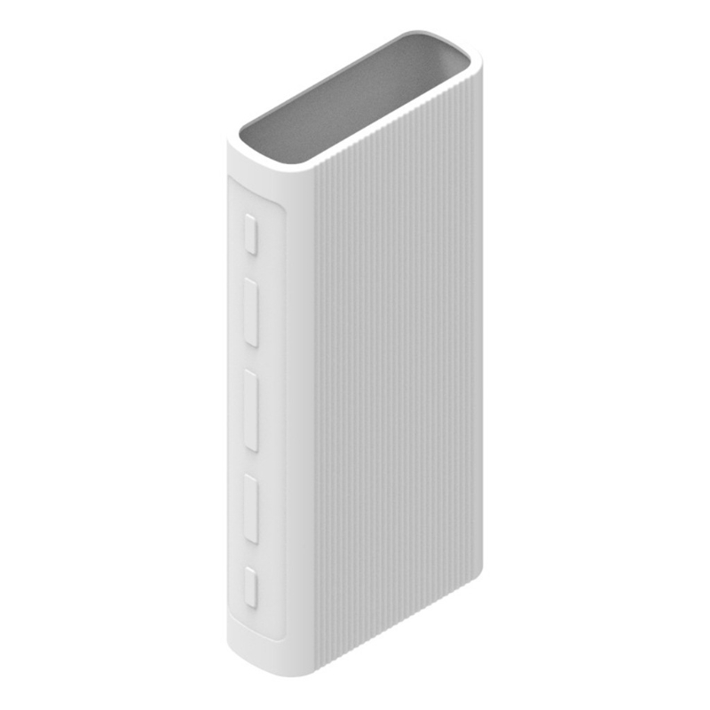 Power Bank Case For Xiao mi Silicone Cover 20000mAh For PLM07ZM/PB2050ZM/PLM18ZM