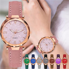 Women Starry Sky Watch Fashion Classic Luxury Ladies Leather Quartz Wrist Watches Relogio Feminino Dropshipping