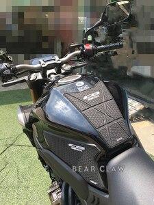 Image 3 - Motorcycle Tank Pad Sticker For Honda CB650R CBR650R Oil tank Protector Anti slip tank grip Decals