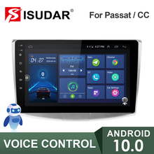 Isudar Auto Radio Voor Vw/Volkswagen/Magotan/Passat B6 B7 Geen 2din Android Autoradio Multimedia Gps Dvr camera Ram 2Gb Rom 32Gb Usb