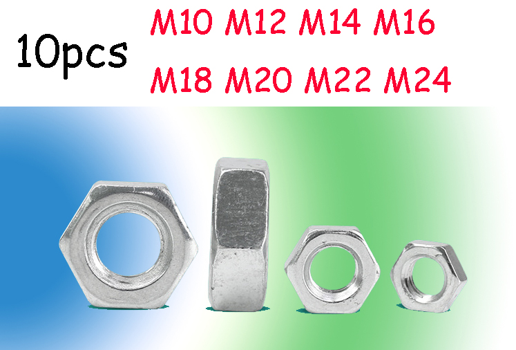3mm Qty 2 Hex Lock Nut M3 Metric Stainless SS 304 A2 70 Thin Half Jam
