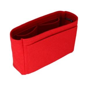Image 2 - Se adapta a Neo noe, bolsas de inserción, organizador de maquillaje, organizador abierto, monedero interior de viaje, moldeador de base de cosméticos portátil para neo noe