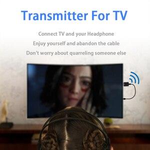 Image 5 - 5.0 Bluetooth משדר מקלט מיני 3.5mm AUX סטריאו אלחוטי Bluetooth מתאם לרכב אודיו Bluetooth משדר עבור טלוויזיה