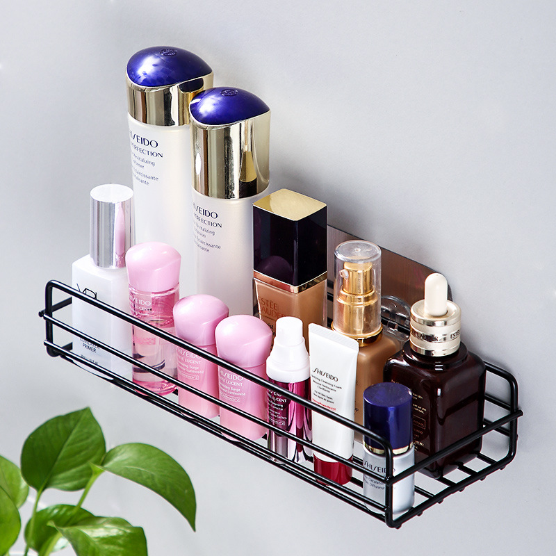 Permalink to Bathroom shelf bathroom free punching multi-function kitchen bathroom vanity wall hanging storage rack bathroom accessories