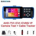 IPC-9310S H.265 4K IP тестер систем Скрытого видеонаблюдения с дисплеем AHD CVI TVI аналоговая CVBS камера тестер с кабелем трекер/wifi/Быстрый ONVIF/12V3A POE