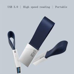 Image 2 - Original xiaomi u disk 64gb usb3.0, tamanho compacto cordão de transmissão de alta velocidade, fácil de transportar corpo de metal