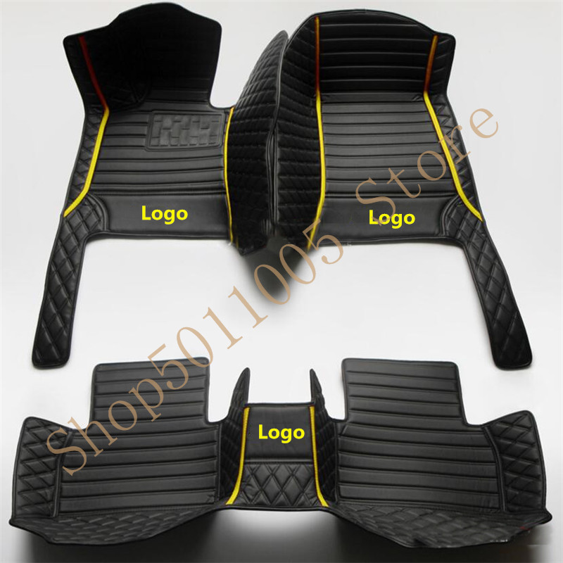Esteiras do assoalho carro personalizado para mercedes benz todos os modelos e c gla gle gl cla ml glk cls s r a b clk slk g gls glc tapetes para carro