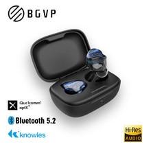 BGVP Q2S technologia hybrydowa TWS 5.2 HIFI bezprzewodowe słuchawki Bluetooth sportowe obustronne w uchu słuchawki do gier słuchawki douszne z mikrofonem