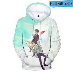 Popular Funny Harajuku Anime Tower of God Hoodies Sweatshirts Men/Women 3D Print Long Sleeve Autumn Pullovers Casual Coats Tops