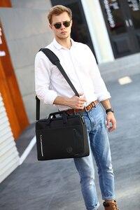 Image 5 - 15 inch laptop bag 15.6  Waterproof Nylon 15.4  laptop shoulder bag man business bag Messenger bag for macbook PRO