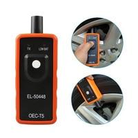 Car Tire Pressure Alarm Monitor System Sensor el 50448 TPMS for GM / Opel Series Vehicles Reset Activation EL-50448 Programming