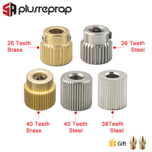 Get more info on the Mk7 MK8 Extrusion Gear 26/38/40 Tooth Teeth Brass or Stainless Steel Drive Gear Feeding Gear Wheel for 3D Printer Extruder