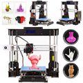 A8 W5 3D принтер Reprap Prusa i3 DIY MK8 LCD принтер 3D Drucker Impressora Imprimante Resume Power failing Printing