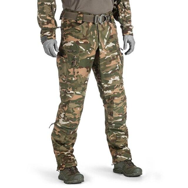 Mens Camouflage Cargo Pants Elastic Multiple Pocket Military Male Trousers Outdoor Sport Pants Plus Size Tactical Pants Men 3