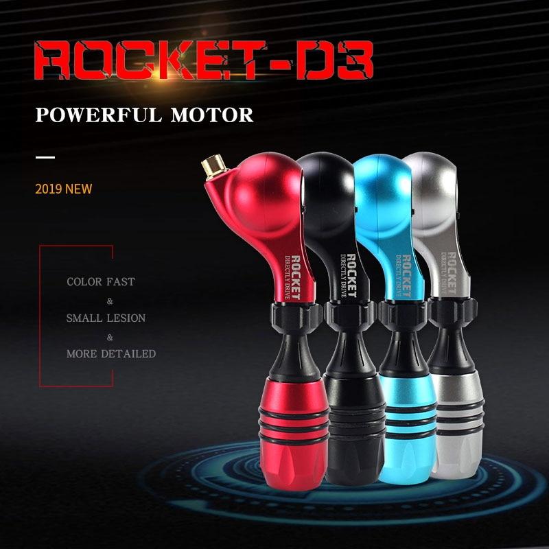 ROCKET D3 Drive Direct Rotary Tattoo Machine  Powerful Motor microblading eyebrow tattoo pen