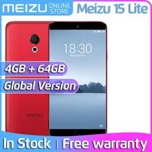 Meizu 15 Lite M15, глобальная версия, 4 Гб, 32 ГБ, 64 ГБ, M871H, мобильный телефон Snapdragon 626, четыре ядра, экран 5,46 дюйма, камера 20 МП