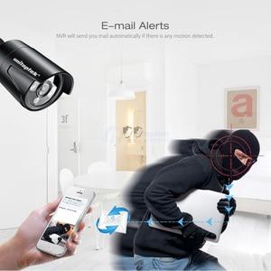 Image 3 - H.265 4CH 48V POE NVR Kit Security Camera CCTV System With 4Pcs 4.0MP CCTV Security IP Camera Outdoor IR Night Vision P2P XMEye