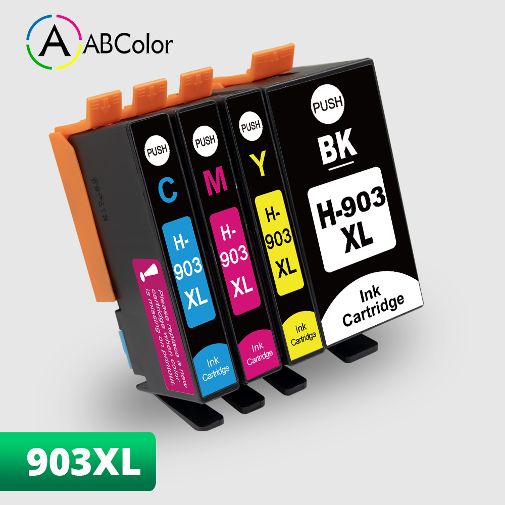 4PK 903xl 903 для HP 903XL hp 903xl чернильный картридж совместимый для HP OfficeJet Pro 6950 6960 6970 все-в-одном принтер
