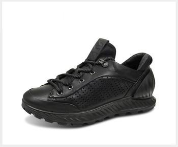 Ecco Men's Leather Shoes Low-cut