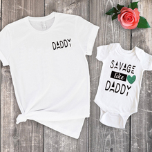 Savage Like Daddy Family Clothing 2020 Summer Savage Onesie Baby Boy Family Look Baby Girl Summer Clothes Father Son Sets платье savage savage sa004ewvjv80