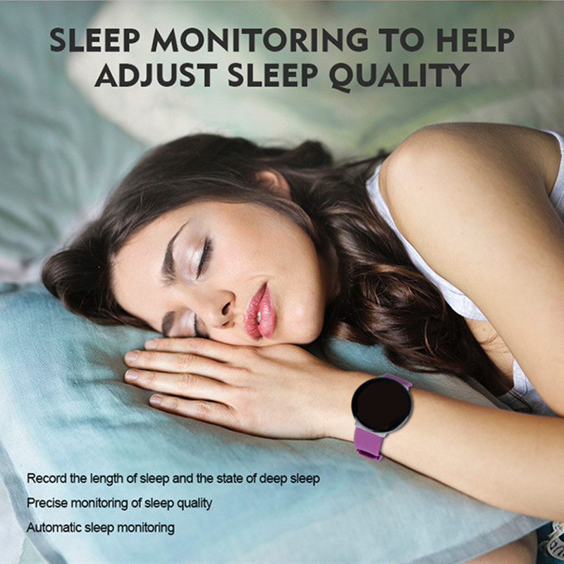 DOOLNNG 2020 D19 Smart Watch women Heart Rate Blood Pressure Health SmartWatch Men Bluetooth Watch Wristband Fitness Tracker 2