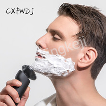 Electric Shaver Men Razor Whole Body Washed Charging Mode Manual Three Cutter Head Acceleration Gear Deep Cleansing